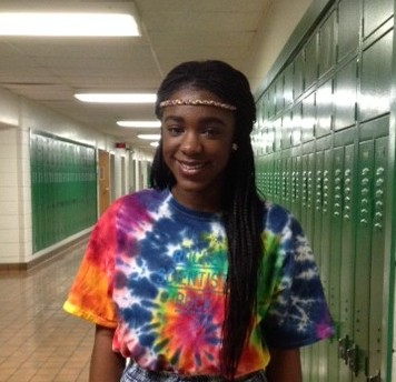 Sophomore Audrey Osudoh, a member of the Disney Dreamers Academy Class of 2015