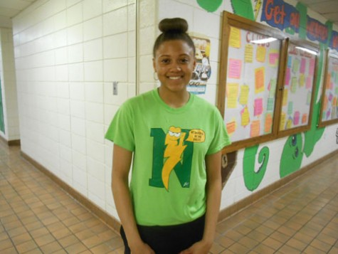 """Nothing, track practice.""  -sophomore Jayla Tarver"