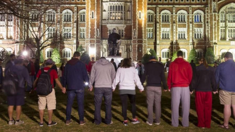 Students+at+Oklahoma+protest+in+the+wake+of+the++SAE+scandal.++