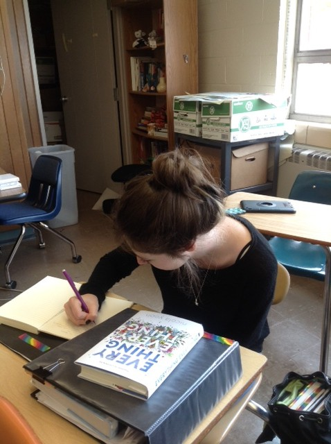 Junior+Taylor+Hamilton%2C+who+is+an+avid+writer%2C+believes+creative+writing+courses+would+be+a+good+experience+for+students+at+Northmont.
