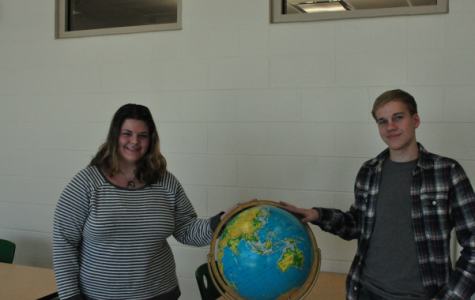 Seniors Anna Fiske and Robbie Spilker consider taking a gap year.