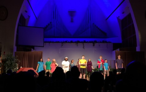 The case of Charlie Brown takes the stage at Shiloh Church.