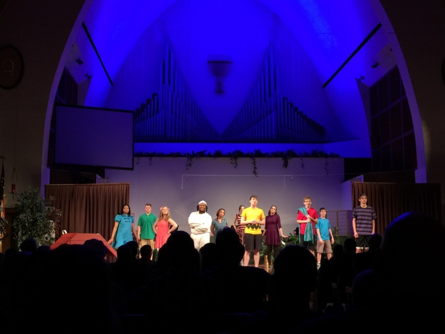 The+case+of+Charlie+Brown+takes+the+stage+at+Shiloh+Church.
