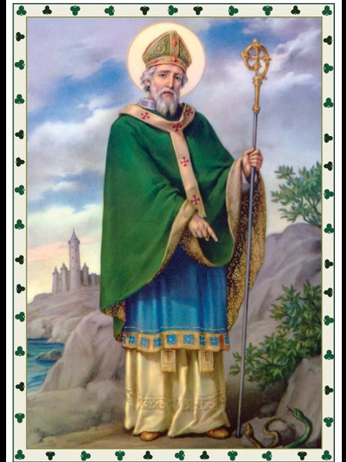Saint Patrick had an unmistakeable influence on Irish Catholics (Photo courtesy of celticvoices.com).