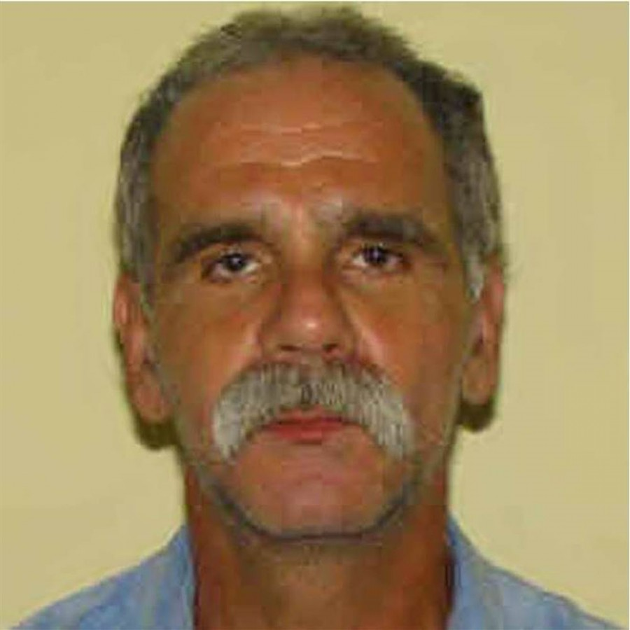 Runaway John Modie, 58, was captured at a Shell gas station