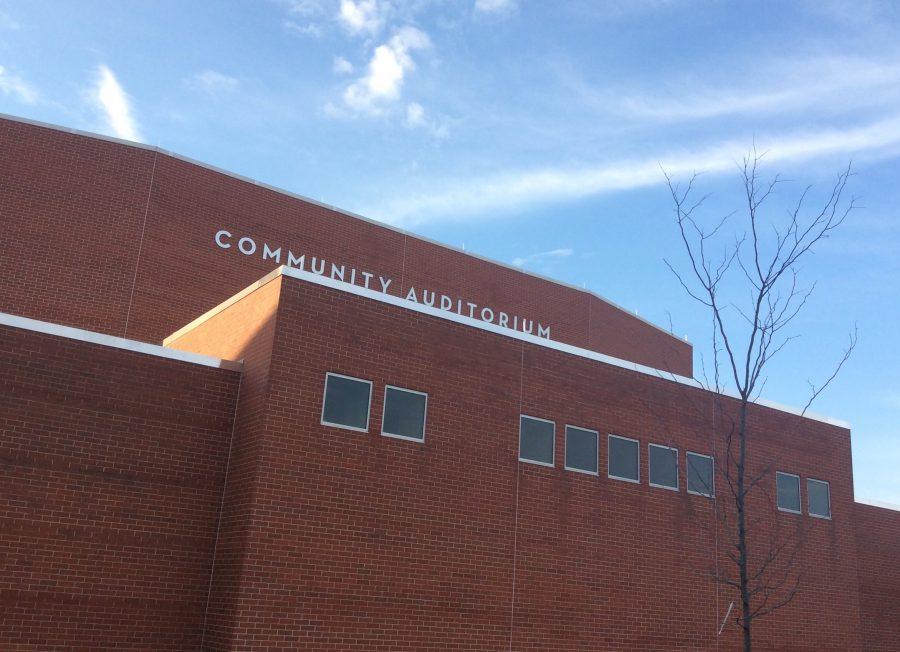 The high school auditorium has been renamed