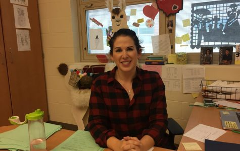 Ms. Sarah Gosser uses several strategies to help anxious students.