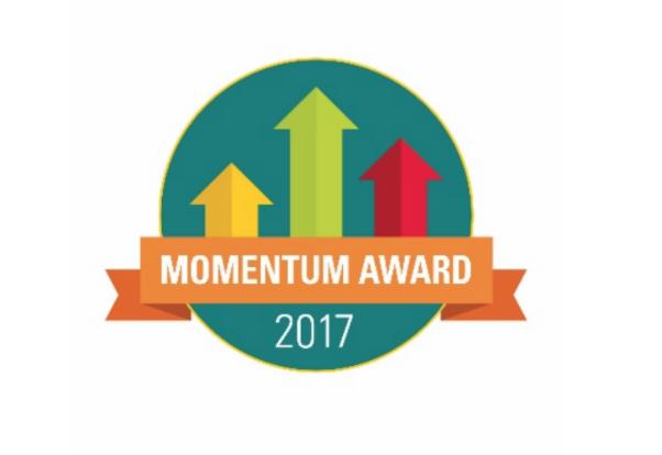 Northmont High School receives the Momentum Award.