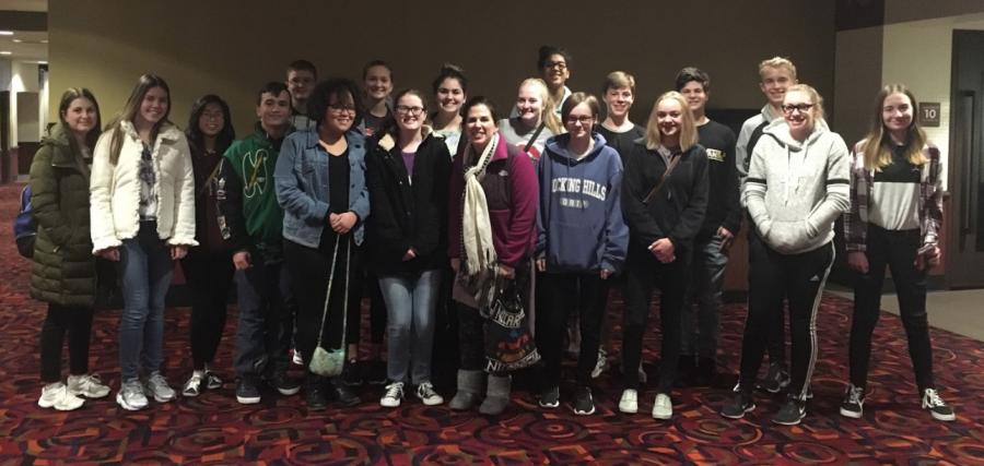 Spanish Club and Ms. Sarah Gosser sees Disney Pixar's