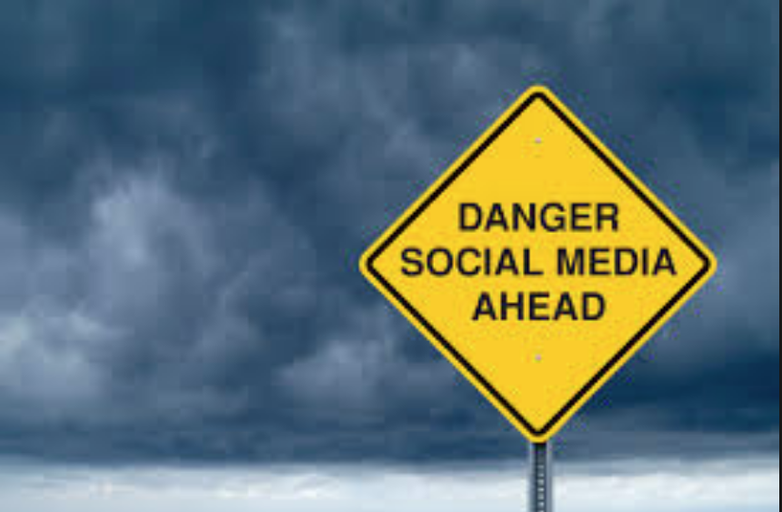 The+dangers+of+social+media+include+stalking+and+cyberbullying.