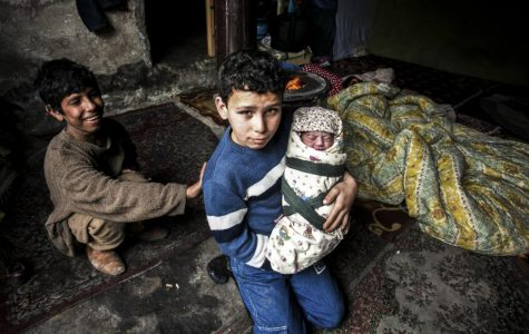 Many children have lost their homes due to the war in Syria (courtesy of Huffington Post).