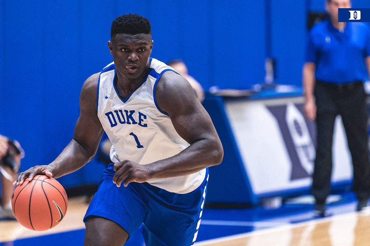 Zion Williamson (1) photo courtesy of SBnation.com