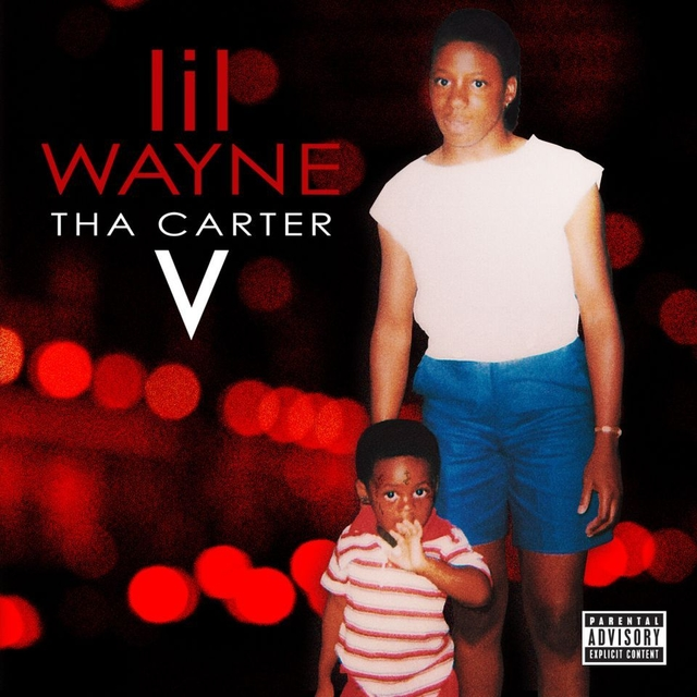 Cover to The Carter V photo courtesy of hiphopdx.com