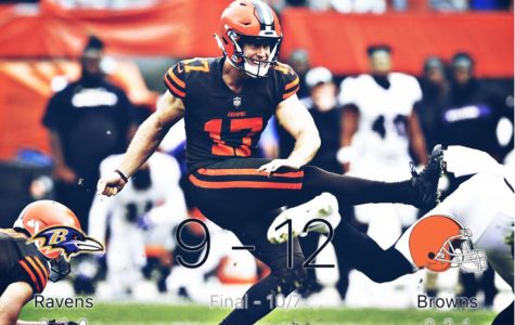 Staying In It: Browns beat Ravens (12 – 9)
