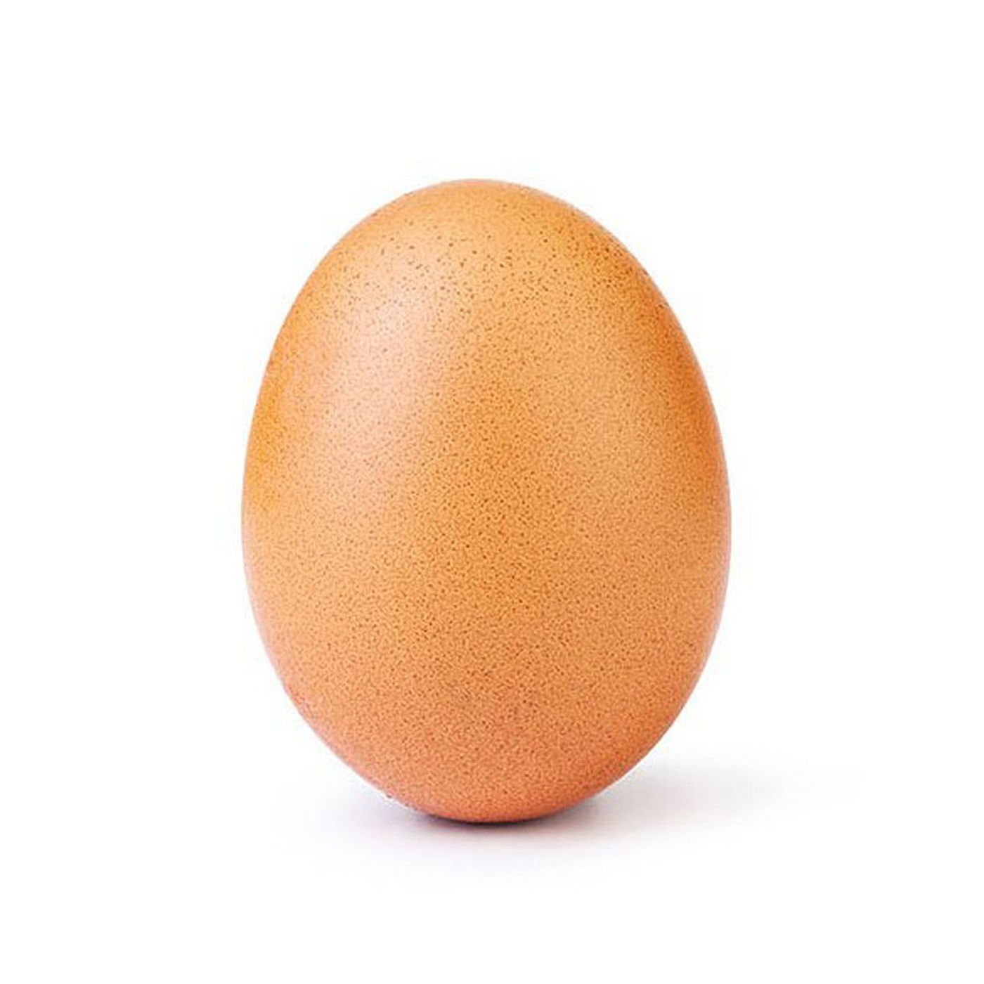 A picture of an egg broke the World Record for most Instagram likes (Photo courtesy of The Verge).