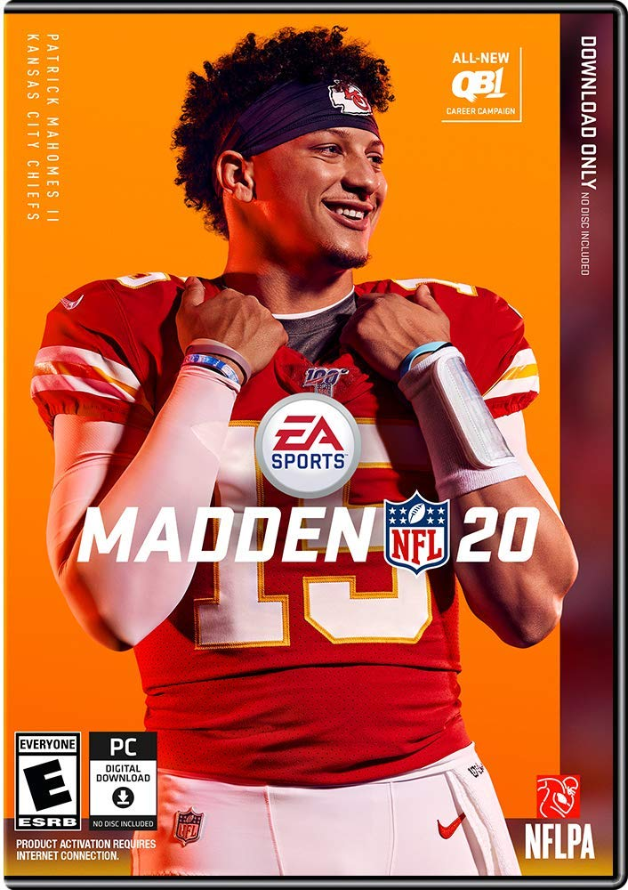 The cover of this year's Madden NFL (photo courtesy of EA Games).