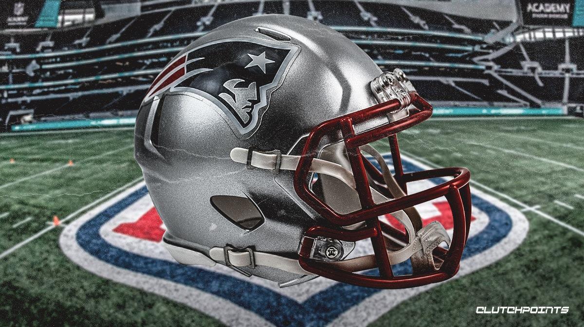 Patriots helmet.