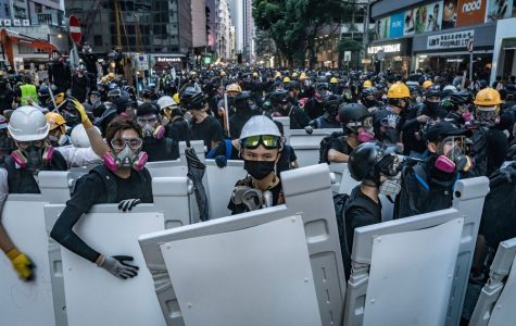 The people of Hong Kong gather in the streets in protest of Chinese rule.