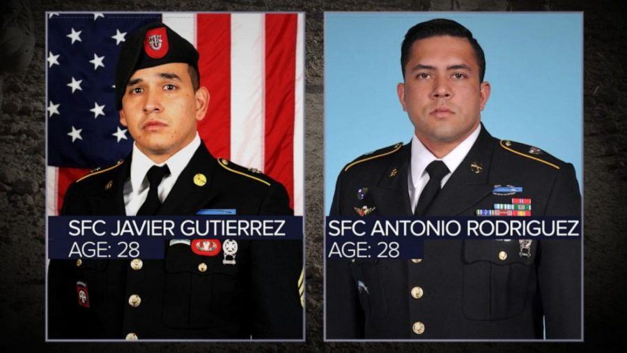 The two U.S. soldiers that were killed in the attack (courtesy of ABC News).