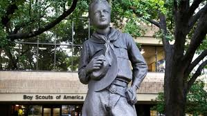 The Boy Scouts of America founder