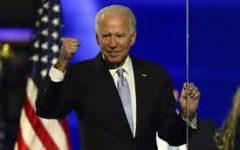 Biden giving his victory speech in Wilmington, Delaware Credit: apnews.com