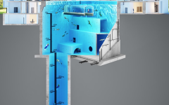 Layout of the new DeepSpot pool