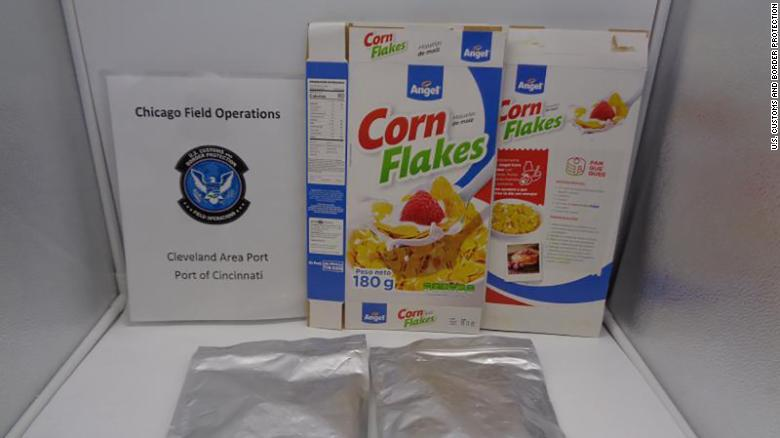 The so called corn flakes that was smuggled into The US