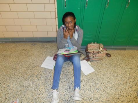 """Thing 1"" -freshman Salena Roberts"