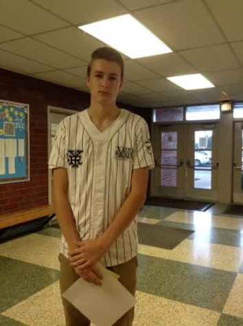 """I dropped the remote in the toilet."" -freshman Brenden Ellis"