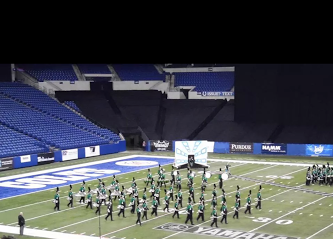 Northmont takes the field in  preliminary performance at BOA in Indianapolis