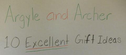Argyle and Archer's Haphazard Advice