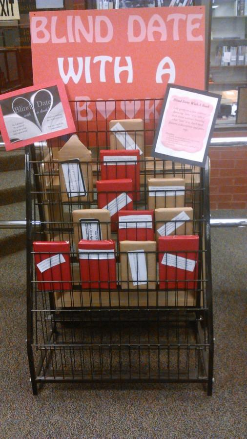 IMC Blind Date With A Book Display.
