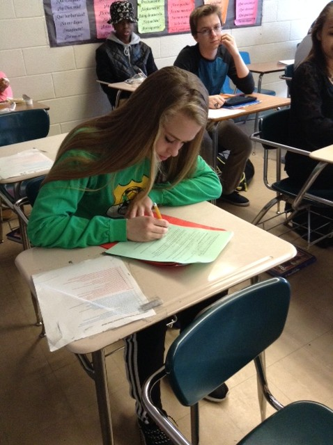 Sophomore Tabatha Hanna is choosing to waive the ACT Prep course for her junior year.