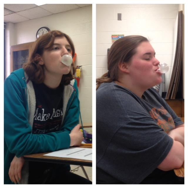 Juniors Dylana Harris and Ericka Postel would be arrested in Singapore for chewing gum.