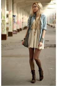 A popular Spring boho look (courtesy of Google images).