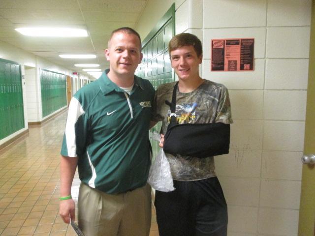 Have fun -Mr. Wagner (Kid at heart) Enjoy it  -sophomore Zach Hoke
