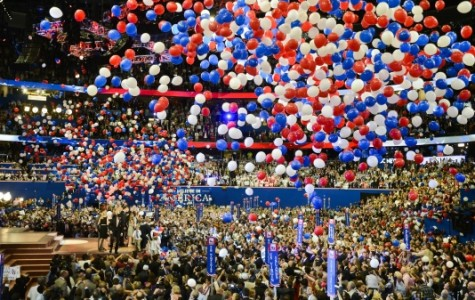 Photo from the 2012 RNC Convention, celebrating Mitt Romney's nomination. Courtesy of Vice News.