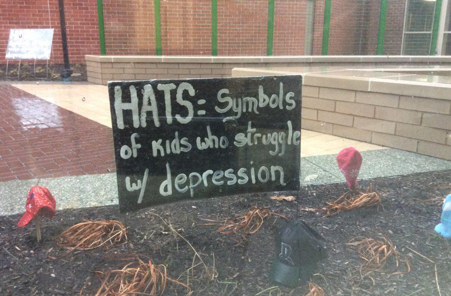 Signs+around+the+school+provide+inspiration+to+students.