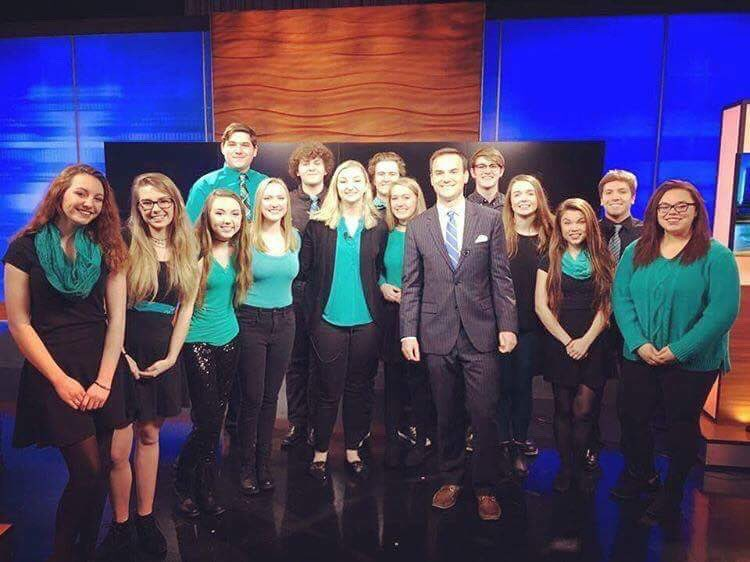 Catalyst was invited on Fox 45 news, Wednesday April 5 (courtesy of @nhscatalyst).