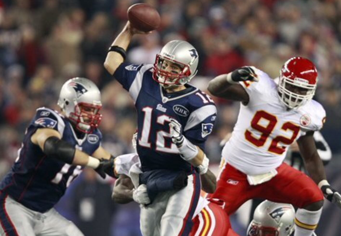 Defending Super Bowl champions the New England Patriots, start off a new season against the Kansas City Chiefs (photo courtesy of Bleacher Report).