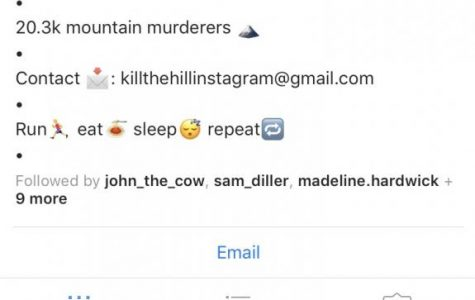 John Pierron's @kill_the_hill account on Instagram boasts thousands of followers.