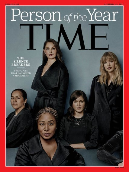 The Time cover shows women who broke the silence about their sexual assault.