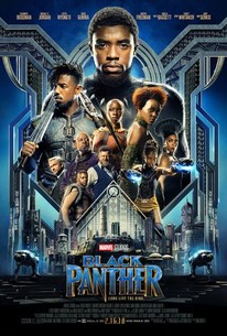 Poster for Marvels new movie Black Panther (courtesy of Rotten Tomatoe)