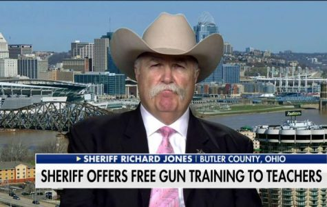 Butler County, Ohio Sheriff Richard K. Jones offers to train teachers to use guns (image courtesy of Fox News).