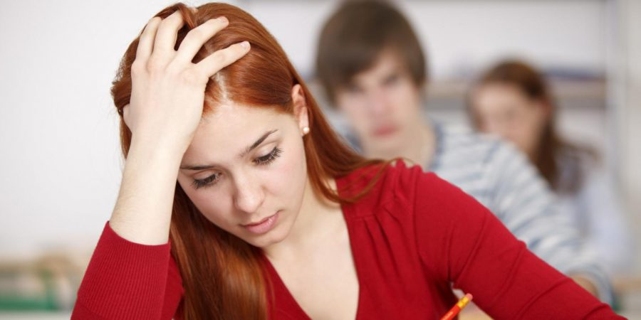 Standardized testing is one of the reasons why teenagers are more stressed than before (courtesy of Huffington Post).