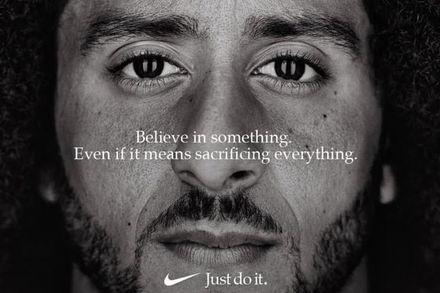 Nike's Colin Keapernick Ad photo courtesy of rollingstone.com