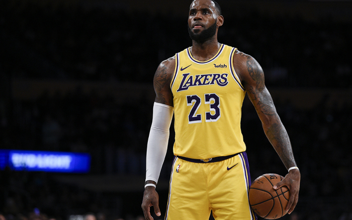 Le'Bron James Looking Forward to The Lakers New Beginnings