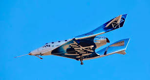 Virgin Galactic spacecraft VSS Unity curtesy of AP Photo/Matt Hartman