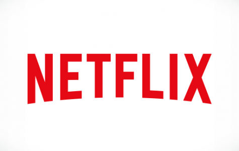 The logo for the streaming media company: Netflix (courtesy of amazon.com).