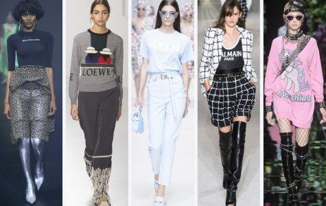 The trends of 2018 (Photo Courtesy of Fashionista)